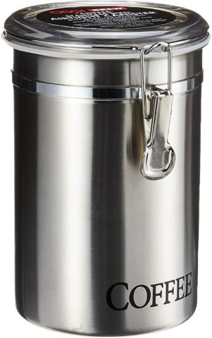 Oggi 60-Ounce Brushed Stainless Steel