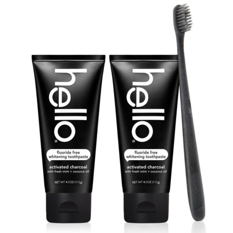 Hello Oral Care Activated Charcoal Teeth Whitening