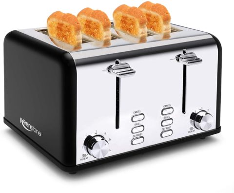 Keenstone Stainless Steel Retro Toasters