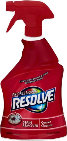 Resolve Professional Strength Spot and Stain Carpet Cleaner