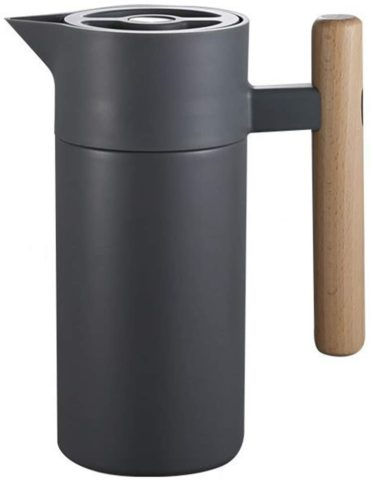 1.2 L Thermal Coffee Carafe with Lid - Food Grade 304 Stainless Steel