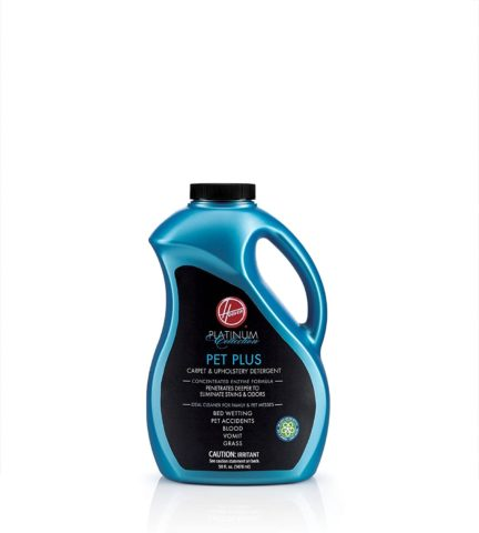 Hoover Pet Plus Carpet Cleaner and Upholstery Solution, Platinum Collection Professional Strength, 50oz, AH30575
