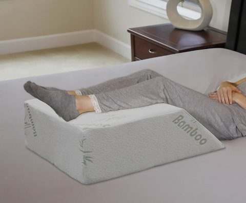 InteVision Ortho Bed Wedge Pillow with a, Removable Cover